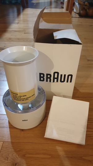 Braun 4297 Immersion Household Blender Chopper Attachment for Sale in Gig Harbor, WA