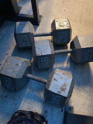 95 pound dumbbells for Sale in Philadelphia, PA