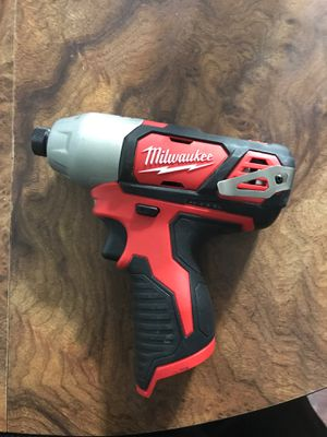 Milwaukee 1/4 in Impact Driver for Sale in Cheyenne, WY