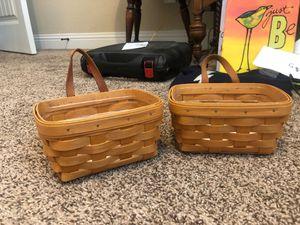 Longaberger Small Key Basket Set for Sale in San Diego, CA