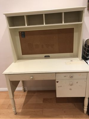 Land of Nod white student desk for Sale in Oakland, CA