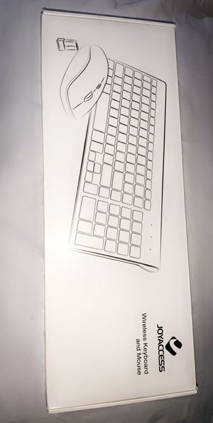 Joyaccess wireless keyboard and mouse for Sale in El Monte, CA
