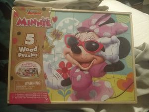 Puzzle Minnie mouse Disney toy kid game family child for Sale in Rosemead, CA