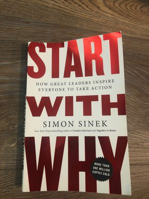 Book- Start With Why by Simon Sinek for Sale in Murrieta, CA