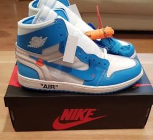 NEW Jordan 1 UNC AUTHENTIC SIZE 9.5 for Sale in South Riding, VA
