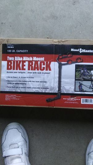 2 Bike hitch mount Carrier for Sale in Katy, TX