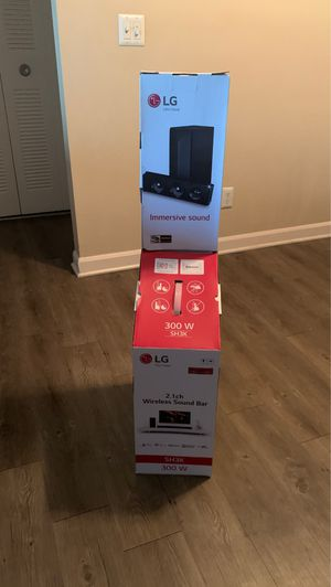 LG SOUND BAR SYSTEM for Sale in Lakewood, CO