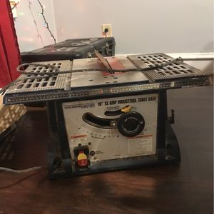 "Professional Series Chicago's Electric 10"" 13 Amp Industrial Table Saw for Sale in Wilmington, DE"