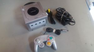Gamecube complete w/controller and cables for Sale in Rancho Cucamonga, CA