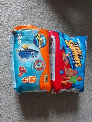 Huggies swim diapers size 24-34 lb for Sale in Vernon Hills, IL