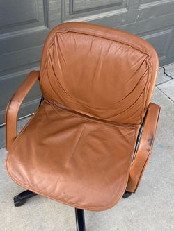 Leather Desk Chair for Sale in Whittier,  CA