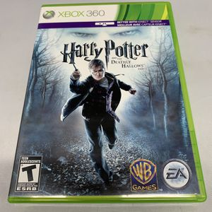 Harry Potter And The Deathly Hallows Part 1 For Xbox 360 And Kinect Complete CIB Video Game for Sale in Camp Hill, PA