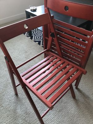Wooden Folding Chairs for Sale in Alexandria, VA