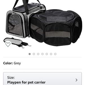 Coopeter Luxury Soft-Sided Pet Carrier Expandable,Pet Travel Carrier for Dog & Cat for Sale in San Dimas, CA