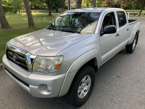 2007 Toyota Tacoma CREW Double Cab Long Bed 4x4 NEW FRAME Private owner for Sale in Woodbridge Township, NJ