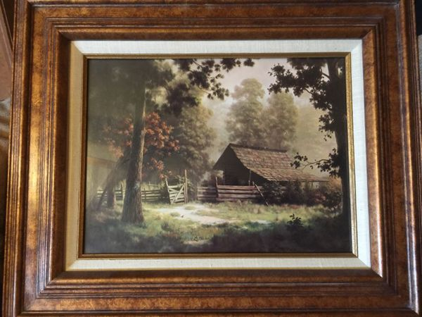 Dalhart Windberg Framed Print Obscurity For Sale In