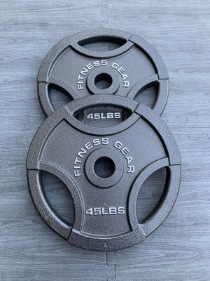 45lb Olympic Plates (BRAND NEW IN BOX) for Sale in Riverside, CA