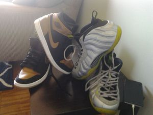 Shoes for sale together or seperate together i will do them for 150 and seperate 80 each for Sale in Rockville, MD