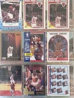 Jordan Basketball & Baseball Card Lot for Sale in Torrance,  CA