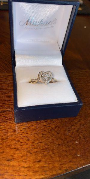 Heart Shape Diamond Ring for Sale in Torrington, CT