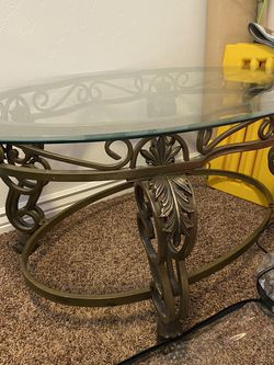 Glass Coffee Table for Sale in Murray,  UT
