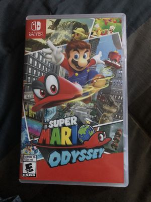 Mario Odyssey - Switch Game for Sale in Kennewick, WA