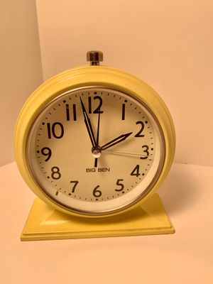 Decor - Yellow Big Ben Alarm Clock for Sale in Lake Saint Louis, MO