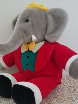 1988 Babar Plush, By Gund. for Sale in Kings Park,  NY