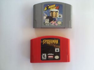 Nintendo 64 videogames for Sale in Ontario, CA