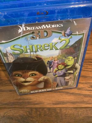 Shrek two, brand new, Blu-ray, 3-D, DVD for Sale in Indianapolis, IN
