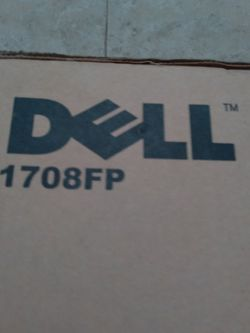 "Dell 17"" Monitor for Sale in West Palm Beach,  FL"