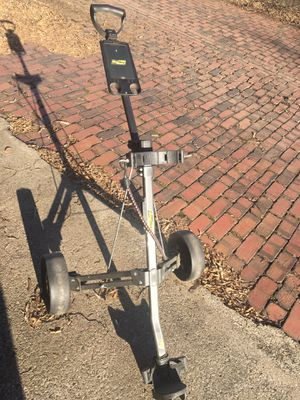 Bag Boy golf cart with bag and Assorted clubs for Sale in McKeesport, PA