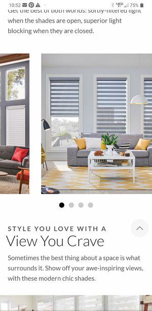 "Zebra rolling curtain blinds 62"" x 103"" for Sale in Las Vegas, NV"