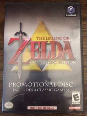 Zelda Collectors Edition nintendo gamecube video game for Sale in San Ramon, CA
