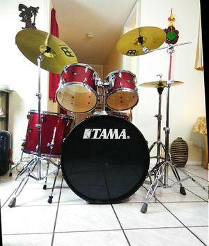 Tama complete drum set. !! $480 or best offer !! for Sale in Oakland Park, FL