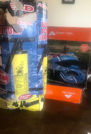 Water tubes and air pump for Sale in Grand Junction, CO