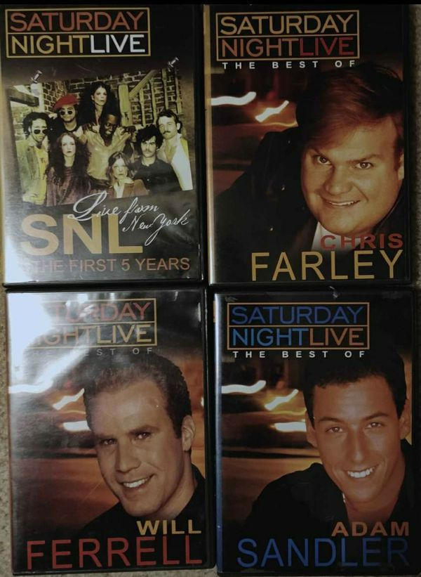 Saturday Night Live best off DVDs.