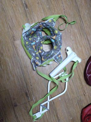 Free baby swing hangs up on door for Sale in Stockton, CA