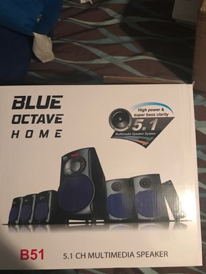 Octave Blue Home Stereo System for Sale in Greenville, TX