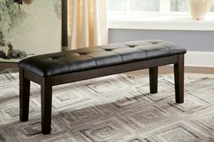 Ashley Furniture Dining Bench, Rustic Brown Finish for Sale in Garden Grove, CA