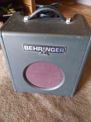 Behringer Bass Guitar Amp for Sale in Las Vegas, NV