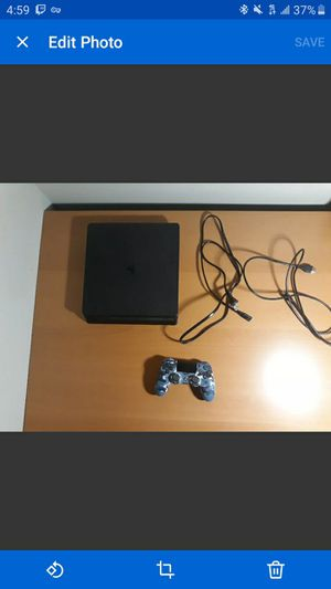 PS4 SLIM BARELY USED 12 GAMES IN AMAZING CONDITION 1 DUELSHOCK 4 CONTROLLER for Sale in Bellevue, WA