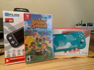 Brand New Nintendo Switch Lite with animal crossing for Sale in Fort Worth, TX