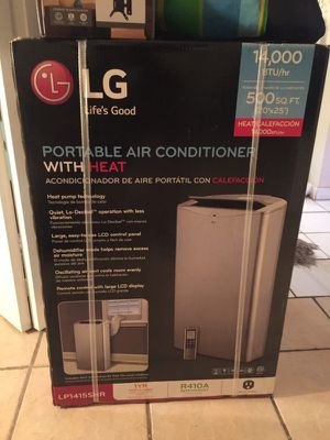 Lg Ac brand never used as you can see for Sale in West Palm Beach, FL
