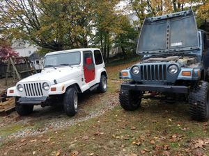 Jeep wrangler tj parts! 1997-2006 for Sale in Weymouth, MA