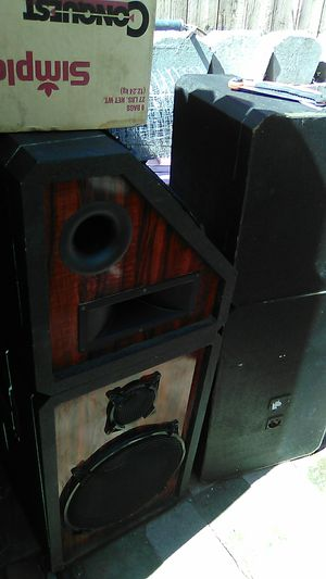 Pro audio house speakers for Sale in Fair Oaks, CA