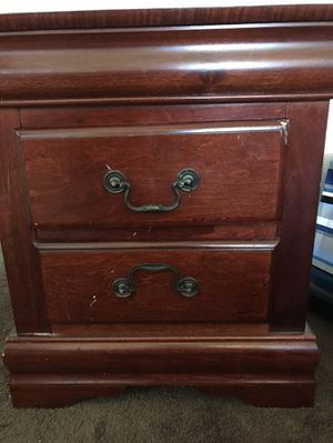 Cherry wood night stand for Sale in Perris, CA