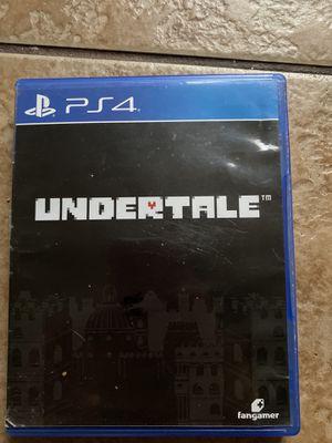 Undertale PS4 for Sale in Tucson, AZ