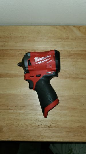 "Milwaukee m12 fuel brushless 3/8"" friction ring impact wrench stubby (TOOL ONLY) for Sale in Chula Vista, CA"