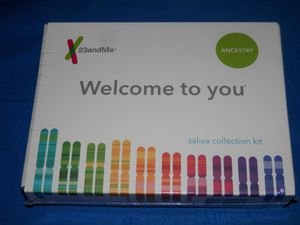 23 and me Ancestry + traits NEW box for Sale in Cincinnati, OH